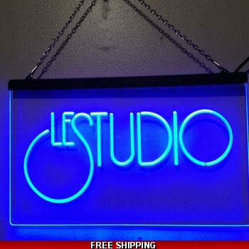 Le Studio Led Light Sign 16X12 Inches